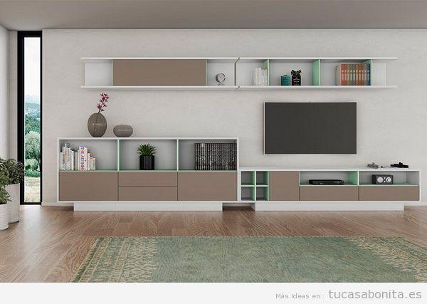 Muebles salón comedor de diseño 8