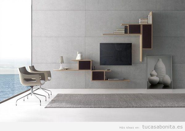 Ideas y trucos para decorar tu casa de estilo moderna o for Muebles salon diseno