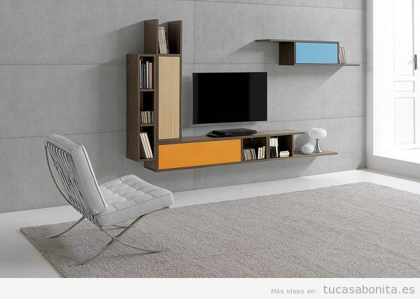 Decoración de espacios con muebles de salón comedor modernos