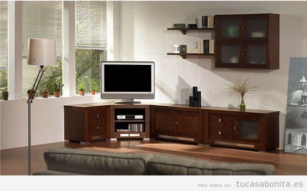 Muebles salón comedor de diseño 10