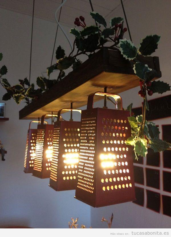 Lámpara DIY rayadores
