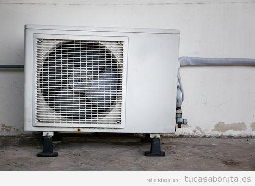 Limpiar condensador aire acondicionado