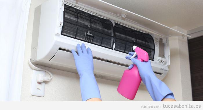 Limpiar evaporador aire acondicionado