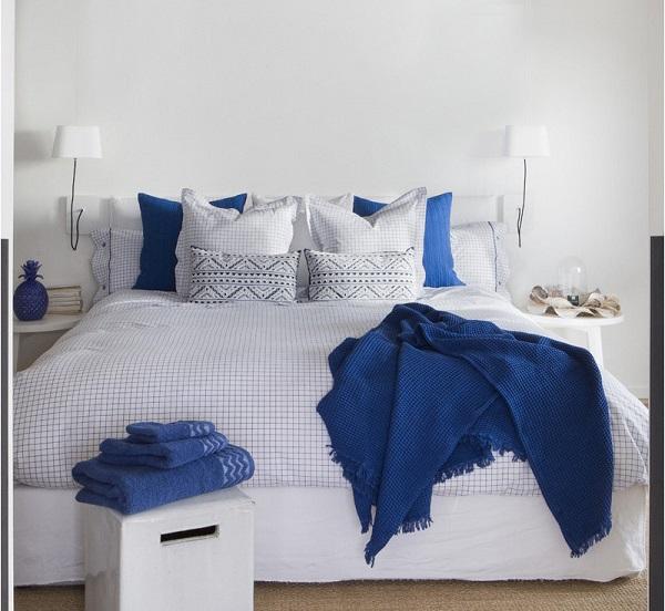 Tendencias ropa de cama primavera 2018 mantas