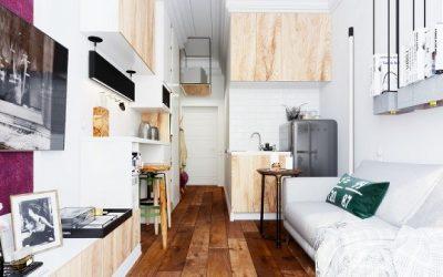 Estudios y pisos pequeños: Trucos para optimizar el espacio disponible