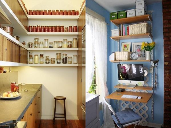 Consejos aprovechar espacios pisos pequeños, verticalidad