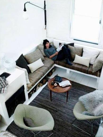 Consejos aprovechar espacios pisos pequeños, sofá almacenar