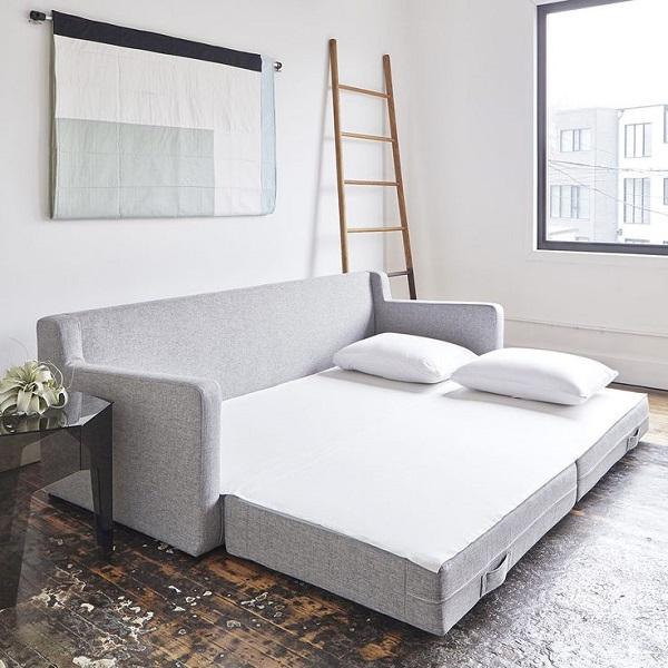 Consejos aprovechar espacios pisos pequeños, sofá cama