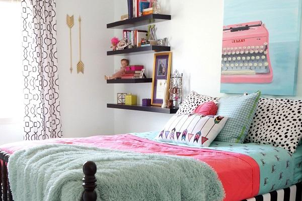 Ideas decorar dormitorios juveniles modernos chicas 37