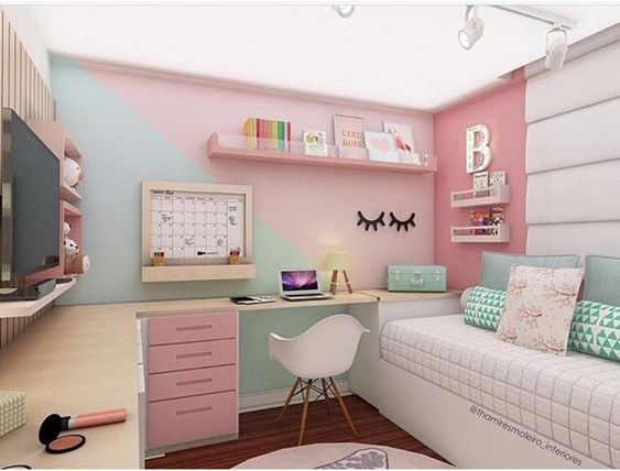 Ideas decorar dormitorios juveniles modernos chicas 21