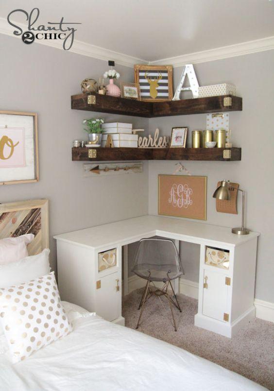 Ideas decorar dormitorios juveniles modernos chicas 20