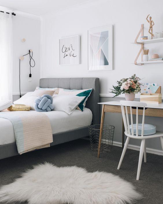Ideas decorar dormitorios juveniles modernos chicas 29