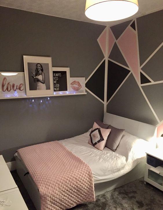 Cómo decorar dormitorios juveniles modernos para chicas + 40 Ideas ...