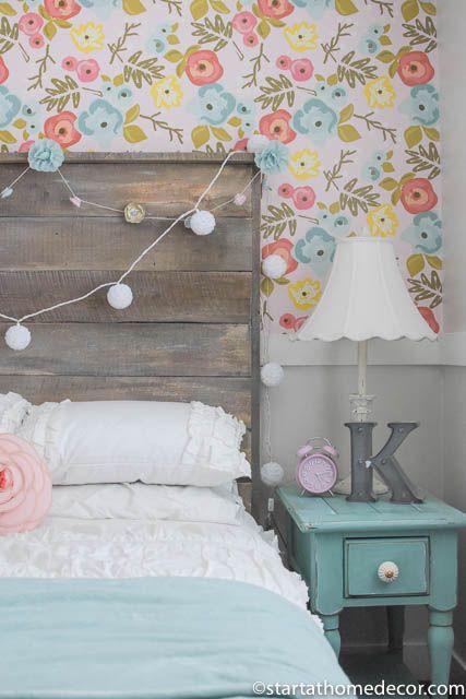 Ideas decorar dormitorios juveniles rústicas chicas
