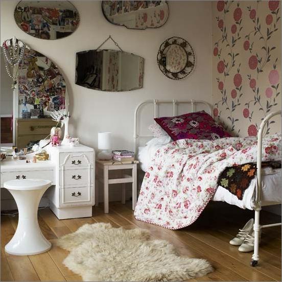 Ideas decorar dormitorios juveniles vintage chicas 2