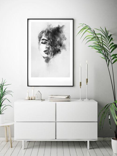 Cuadro decorativo retrato