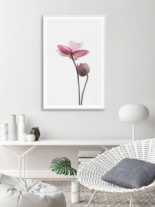 Cuadro decorativo flores