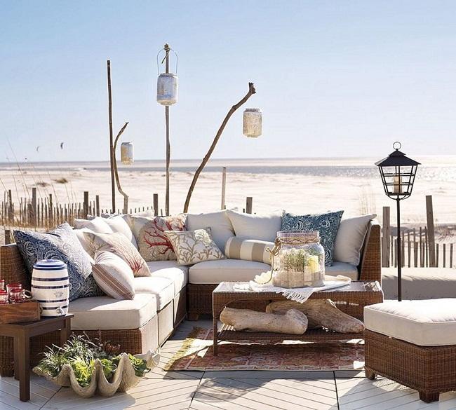 Cómo decorar una casa en la playa con estilo relajante