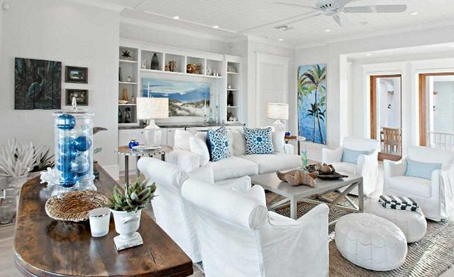 Como Decorar Una Casa En La Playa Con Estilo Relajante Tu Casa - Decoracion-casa-playa