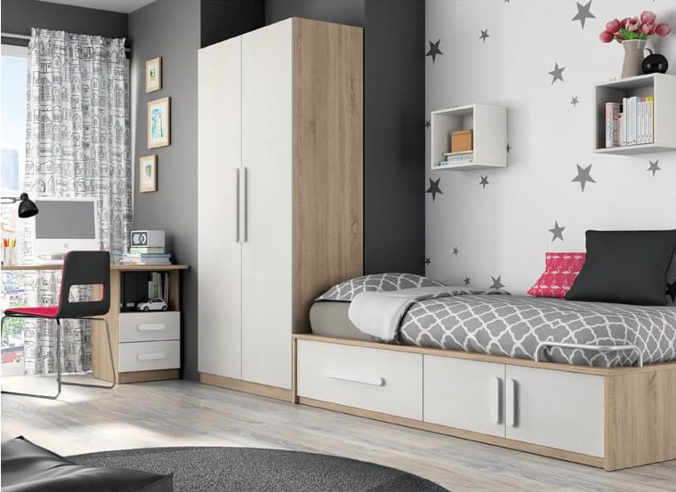 Muebles juveniles baratos y modernos a vuestros hijos e for Dormitorios juveniles baratos