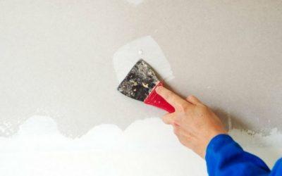 Qué es y cómo se utiliza la masilla para pared