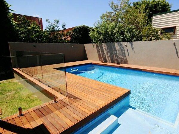 Tarimas de madera de ipe para terrazas y jardines