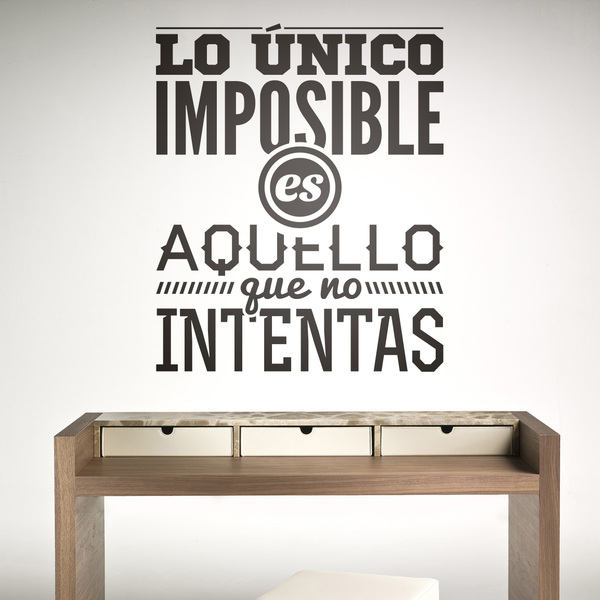 Decora con vinilos para la pared con frases de la vida for Vinilos pared recibidor