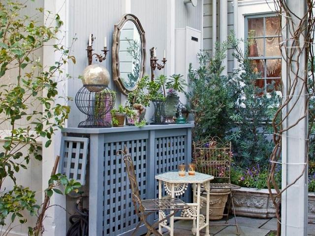 Guardar y esconder manguera del jardín 9
