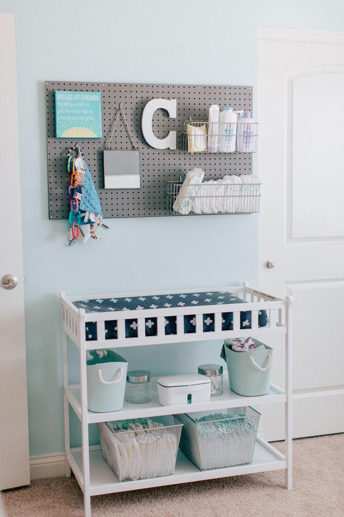 Habitación bebé cambiador