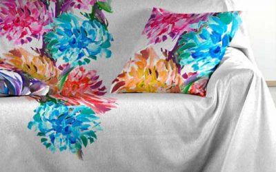 Viste tu casa con ropa de hogar que merece y con mucho color