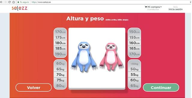 Comparador colches online Selezz 3