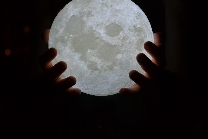 Lámparas de luna