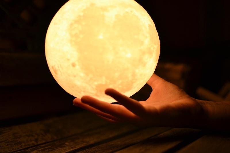Lámparas de luna 3