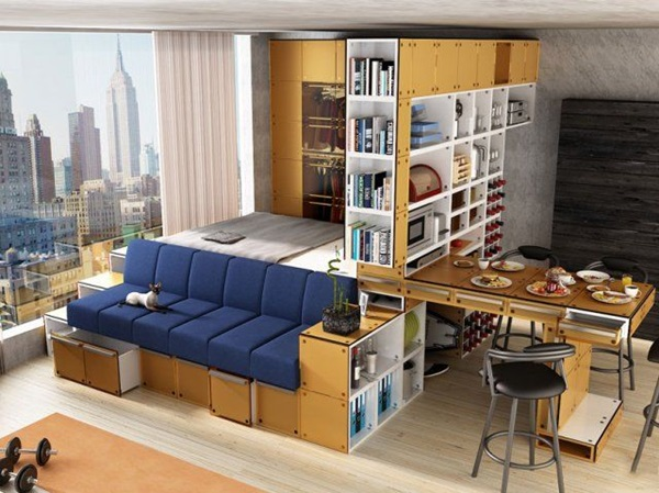 Trucos ahorrar espacio casa 4