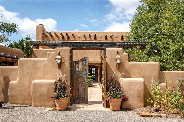 Casa mexicana tradicional adobe 2