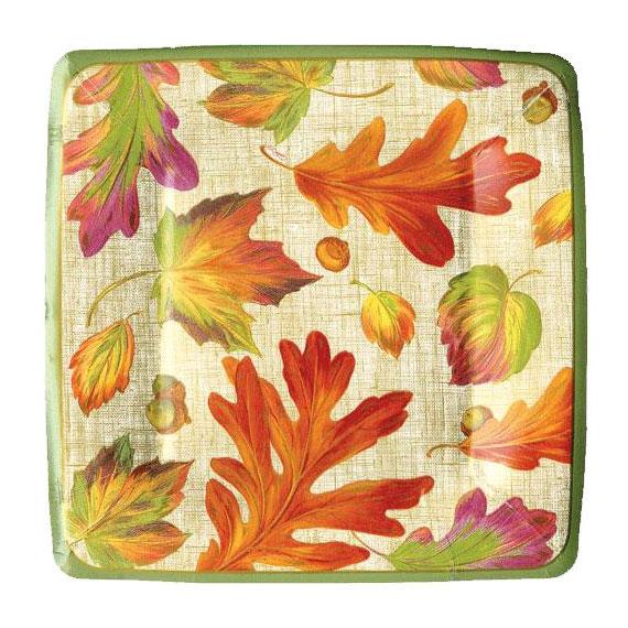 Platos desechables otoño 4