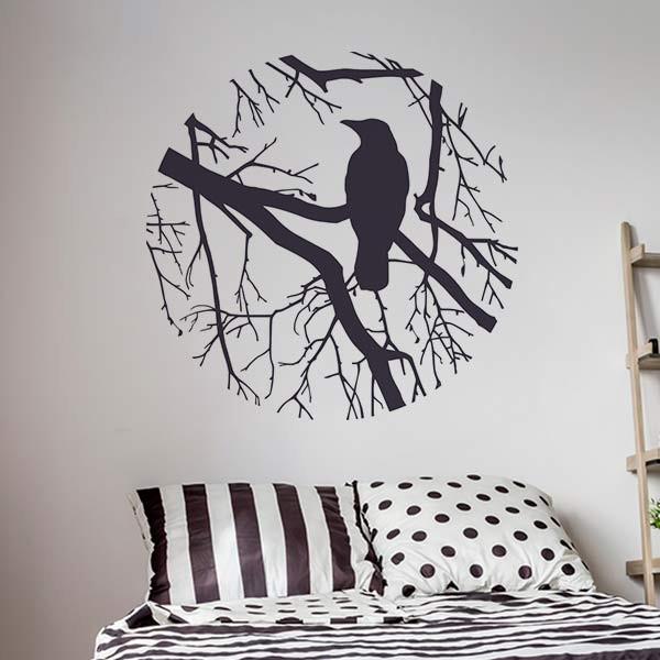 Vinilo decorativo para dormitorio