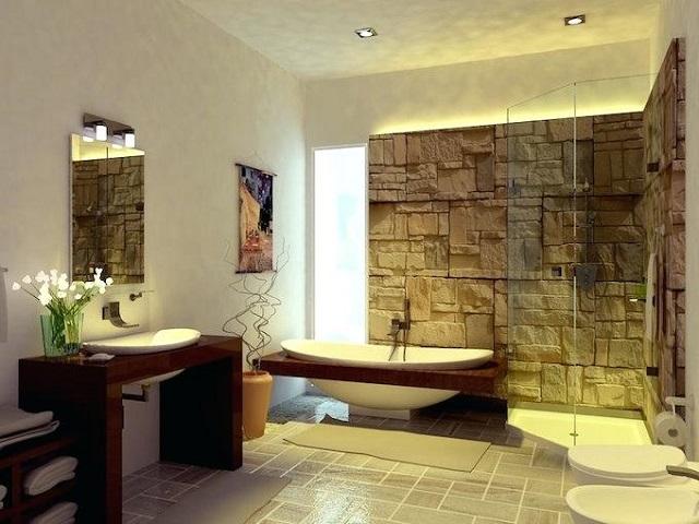 Baño decoración oriental 2