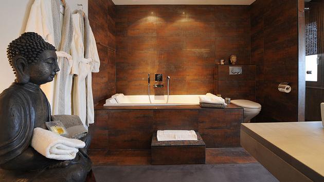 Baño decoración oriental 3
