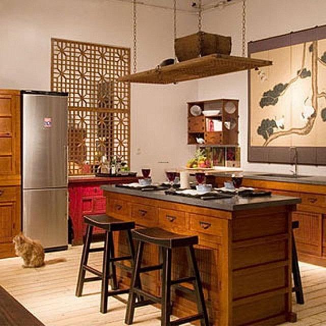 Cocina decoración oriental 2