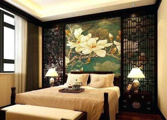 Dormitorio decoración oriental 2