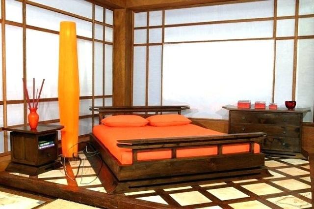 Dormitorio decoración oriental 3