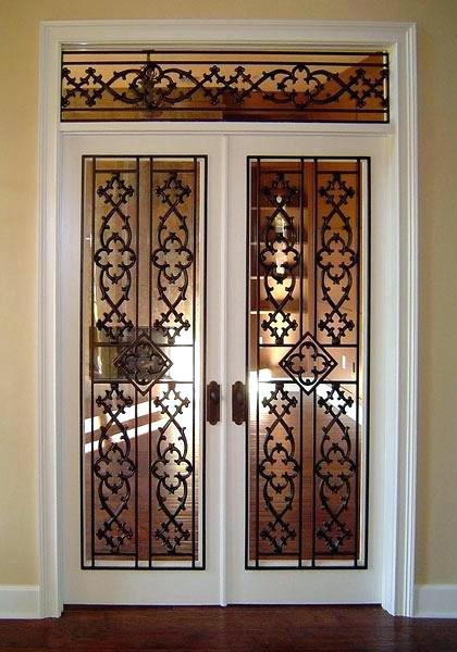 Rejas para puerta decorativas