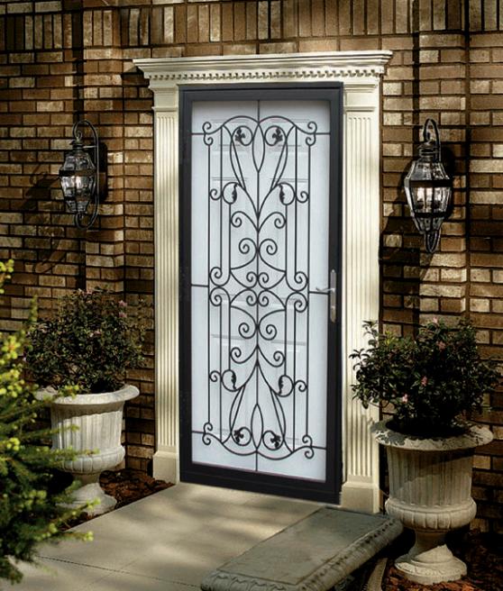 Rejas para puerta decorativas 6
