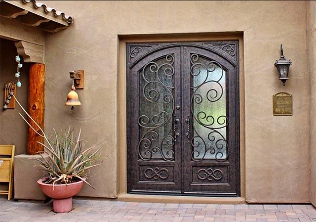 Rejas para puerta decorativas 3