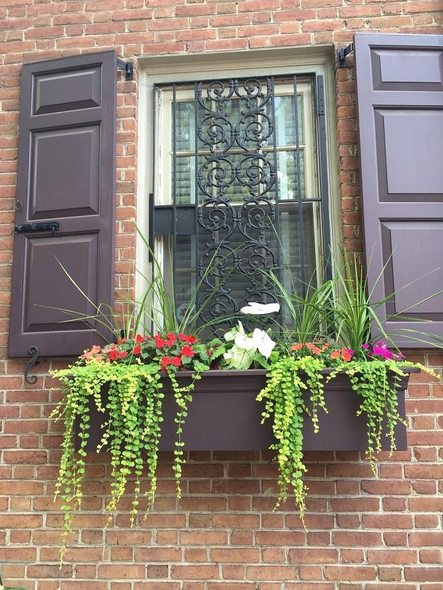 Rejas ventanas decorativas