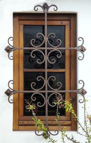 Rejas ventanas decorativas 9