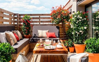 Ideas para decorar terrazas pequeñas