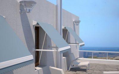 El toldo te ayuda a decorar las ventanas de tu casa