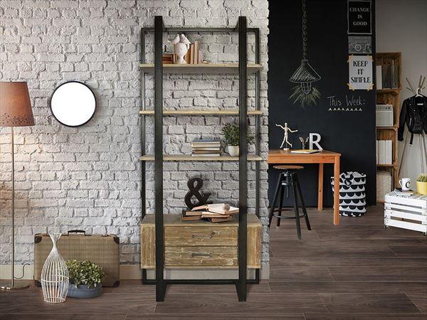Muebles para una decoración industrial